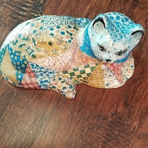 Vintage Patchwork Cat